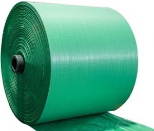 Arpillera de Color Verde