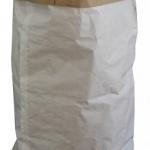 Saco de papel blanco multicapa