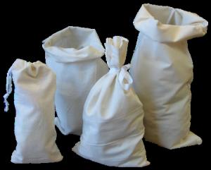 Sacos de algodon