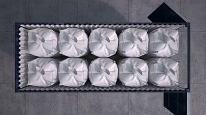 Container con Big Bags estandar