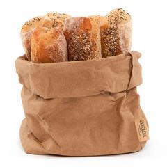 Saco de papel con pan