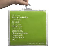 Pack sacos Rafia Jardineria 2