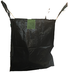 Big Bag Rafia Negra Small