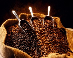 Saco con cafe 1