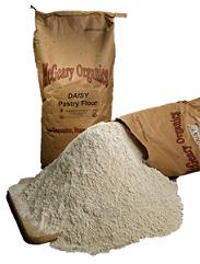 Sacos de papel con harina